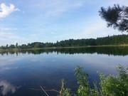 Продается земельный участок с искусственным озером