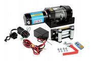 Лебедка электрическая Electric Winch 3000 lbs,  ATV (кевлар)