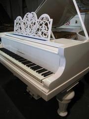 [+]  Рояль BLUTHNER,  1905г., белый, 1, 9м. Отл.сост.Превосходный звук,