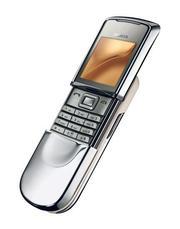 Nokia 8800 Sirocco Edition Silver.